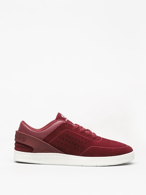 Diamond Supply Co. Graphite Shoes (burgundy)