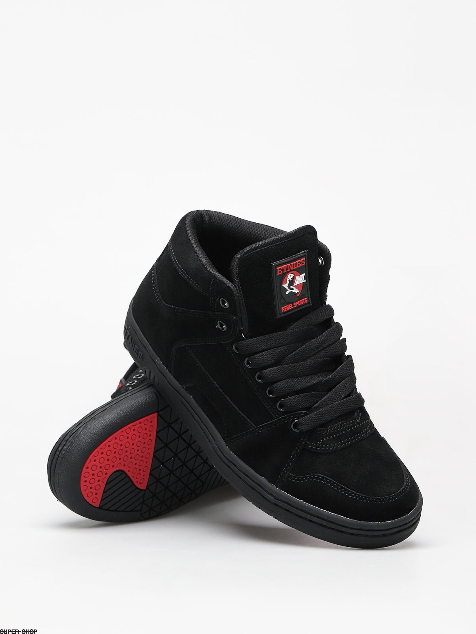 Etnies Mc Rap High Shoes (black)