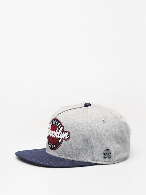 Cayler & Sons Barber ZD Cap (grey/navy)