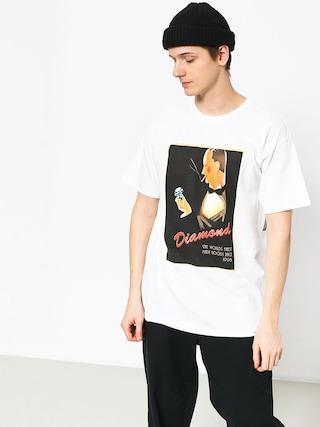 Diamond Supply Co. Worlds Finest T-shirt (white)