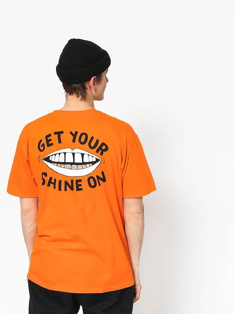 Diamond Supply Co. Shine On T-shirt (orange)