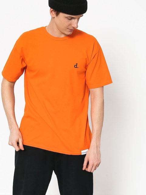 Diamond Supply Co. Mini Unpolo T-shirt (orange)