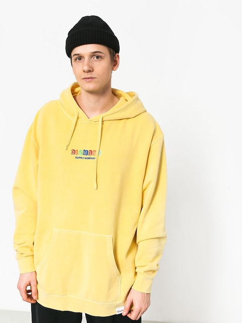 Diamond Supply Co. Building Blocks HD Hoodie (yellow)