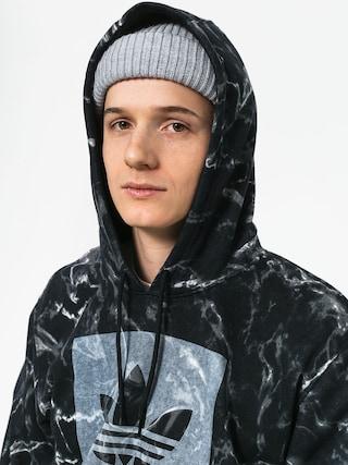 adidas Mrble Aop HD Hoodie (black/white)
