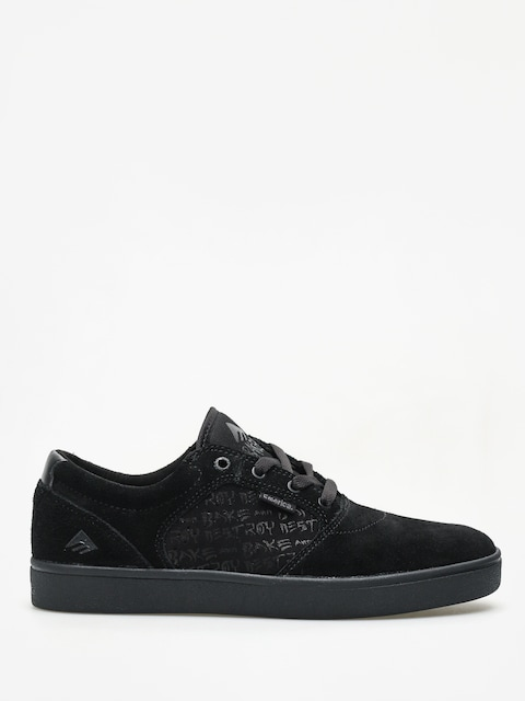 Emerica Figgy Dose X Baker Shoes (black/black)