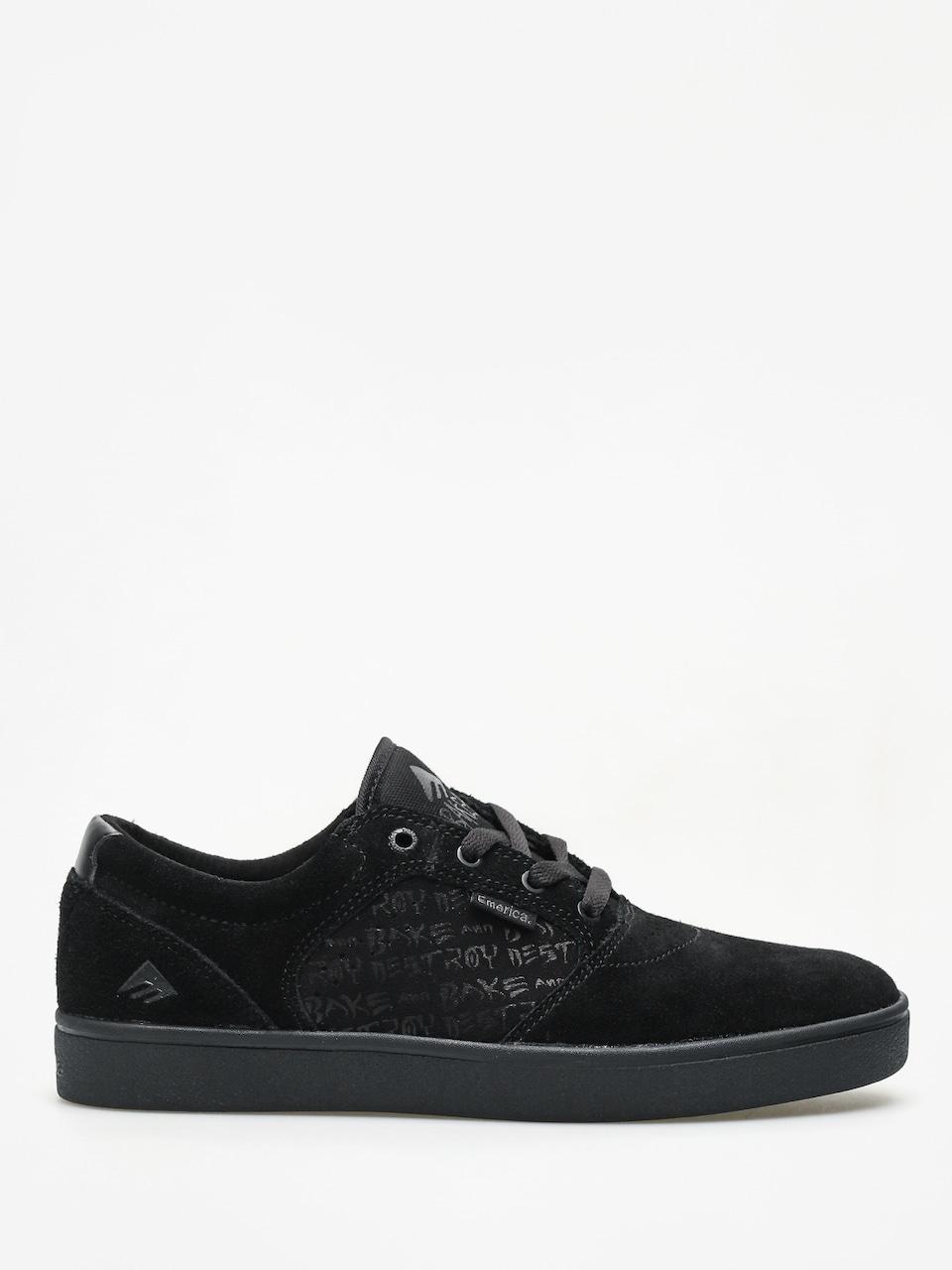 Emerica Figgy Dose X Baker Shoes (black