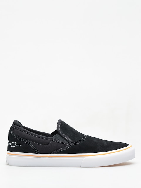 Emerica Wino G6 Slip On X Funeral Shoes (black)