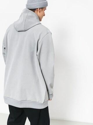 adidas Team Tech HD Hoodie (medium grey heather/black)