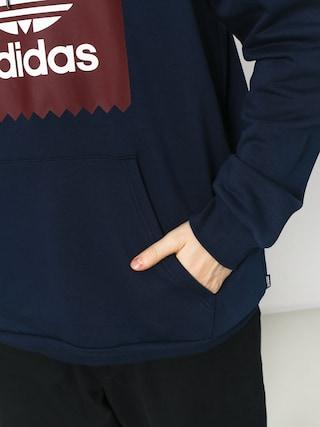 adidas Solid Bb HD Hoodie (collegiate navy/collegiate burgundy/white)