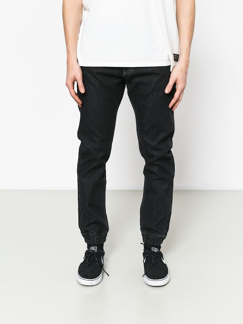MassDnm Base Jogger Jeans Sneaker Fit Pants (black rinse)