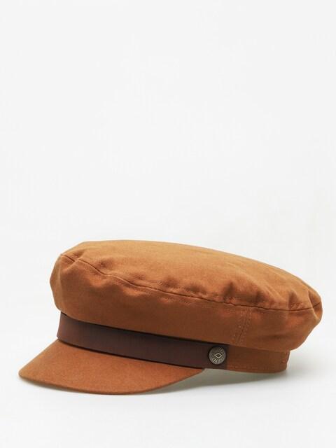 Brixton Fiddler ZD Flat cap Wmn (brown/dark brown)