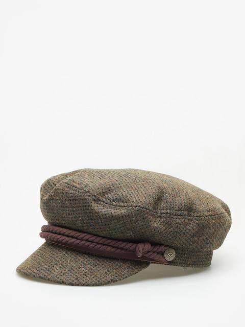 Brixton Fiddler ZD Flat cap Wmn (moss/brown)