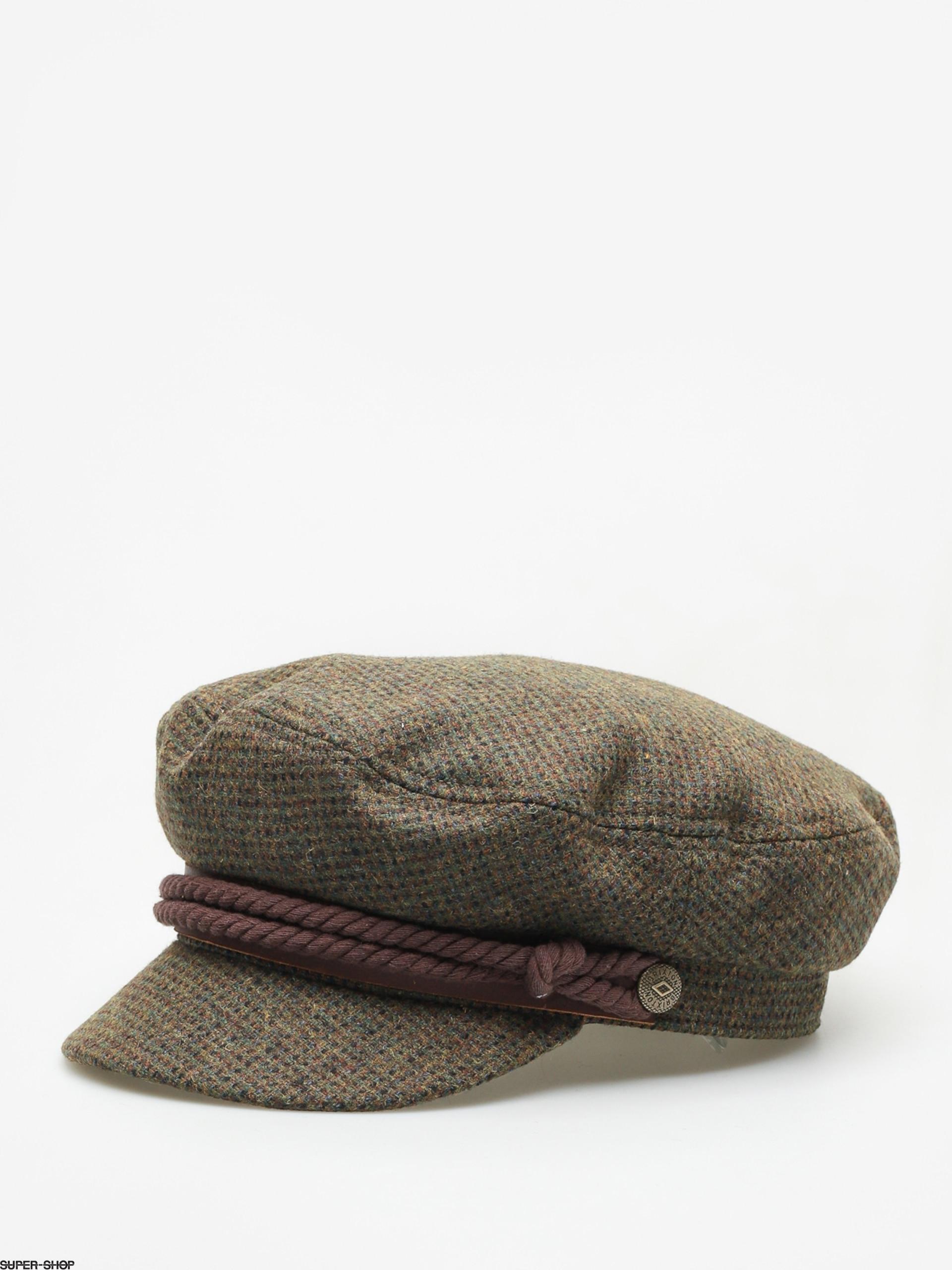 Brixton Fiddler ZD Flat cap Wmn (moss brown) 762c6a5f17cd