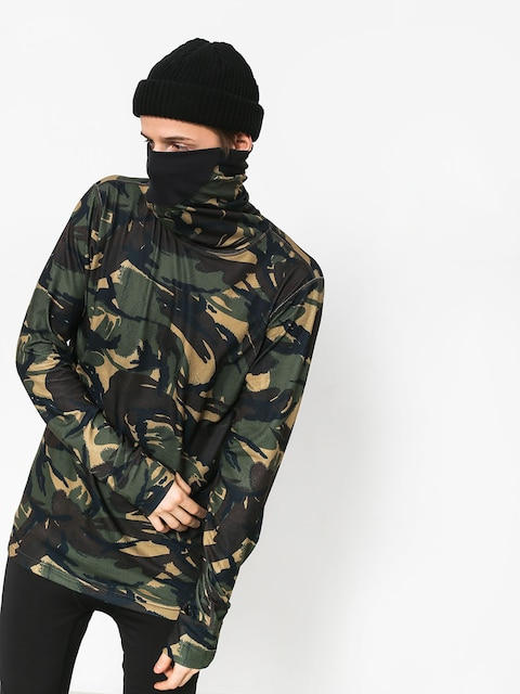 Burton Mdwt Long Neck Underwear (seersucker camo)