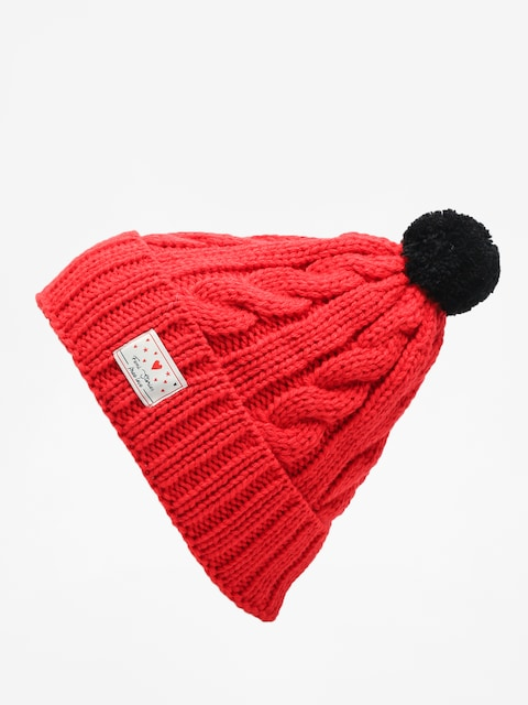 Femi Stories Faga Beanie Wmn (red)