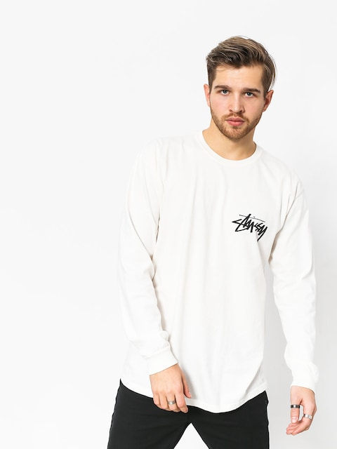 Stussy Stock Pig Dyed Longsleeve (natural)