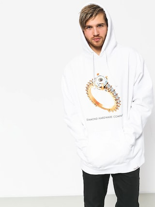 Diamond Supply Co. Hardware Ring HD Hoodie (white)