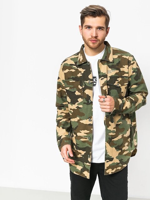 Diamond Supply Co. Military Ls Shirt (camo)