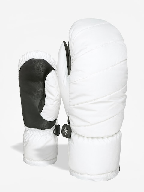 Level Bliss Cozy Down Mitt Gloves Wmn (white)