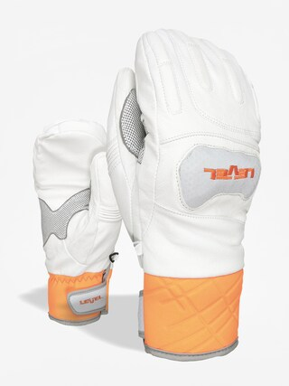 Level Race Mitt Gloves (white)