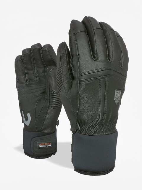 Level Off Piste Leather Gloves Wmn (black)