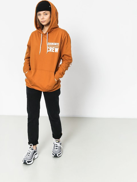 Diamante Wear Diamante Crew Hoodie (honey)