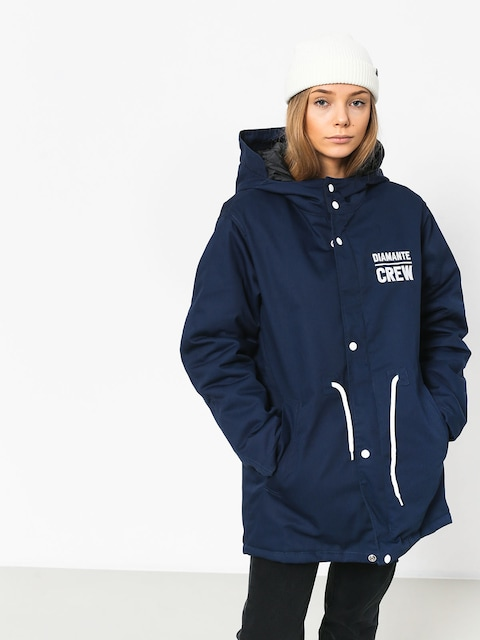 Diamante Wear Diamante Crew Jacket (navy)