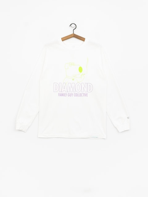 Diamond Supply Co. Dmnd Family Guy Collective Longsleeve (white)