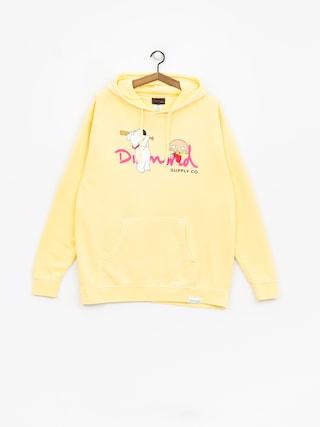 Diamond Supply Co. Family Guy Og Script Hoodie (yellow)