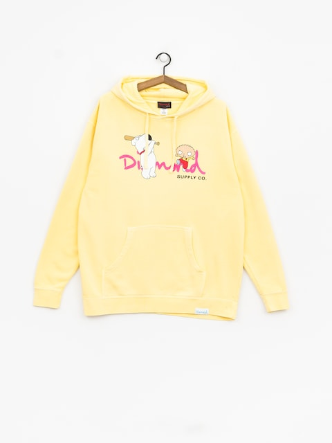 Diamond Supply Co. Family Guy Og Script Hoodie (yellow)
