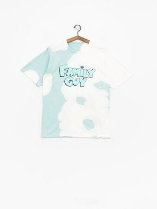 Diamond Supply Co. Family Guy Crystal Wash T-shirt (diamond blue)