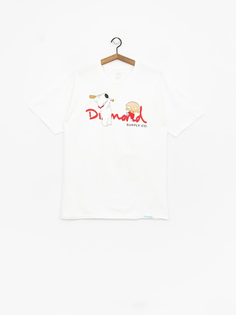Diamond Supply Co. Family Guy Og Script T-shirt (white)