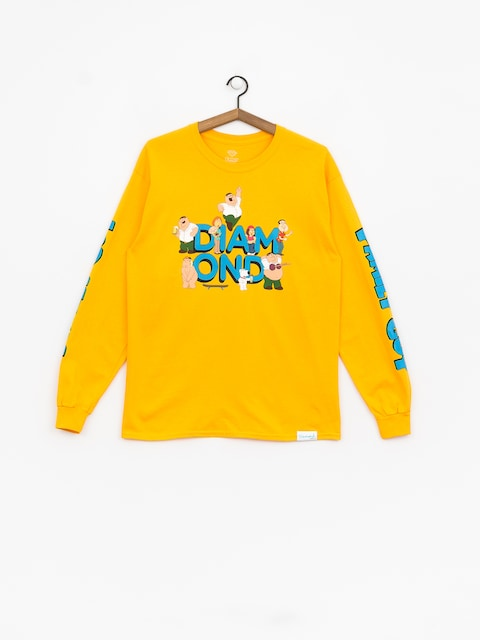 Diamond Supply Co. Diamond X Family Guy Longsleeve (yellow)