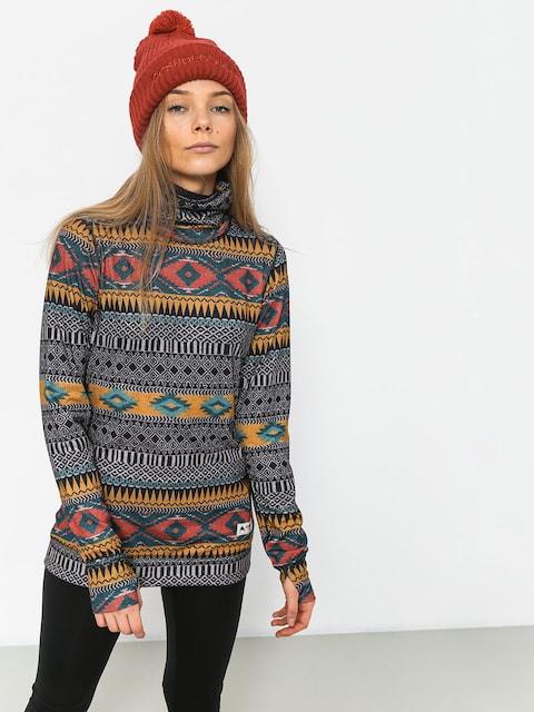Burton Mdwt Long Neck Underwear Wmn (tahoe freya weave)