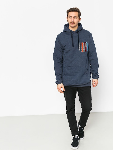 Malita Hood Pocket HD Hoodie (heather navy)