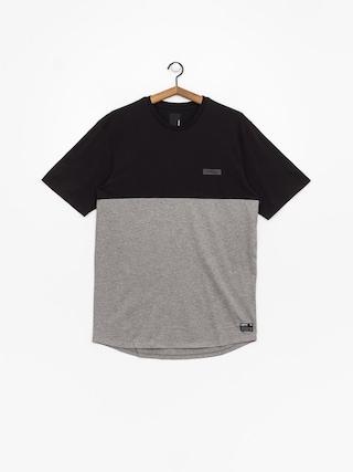 Supra Block T-shirt (black/htr)