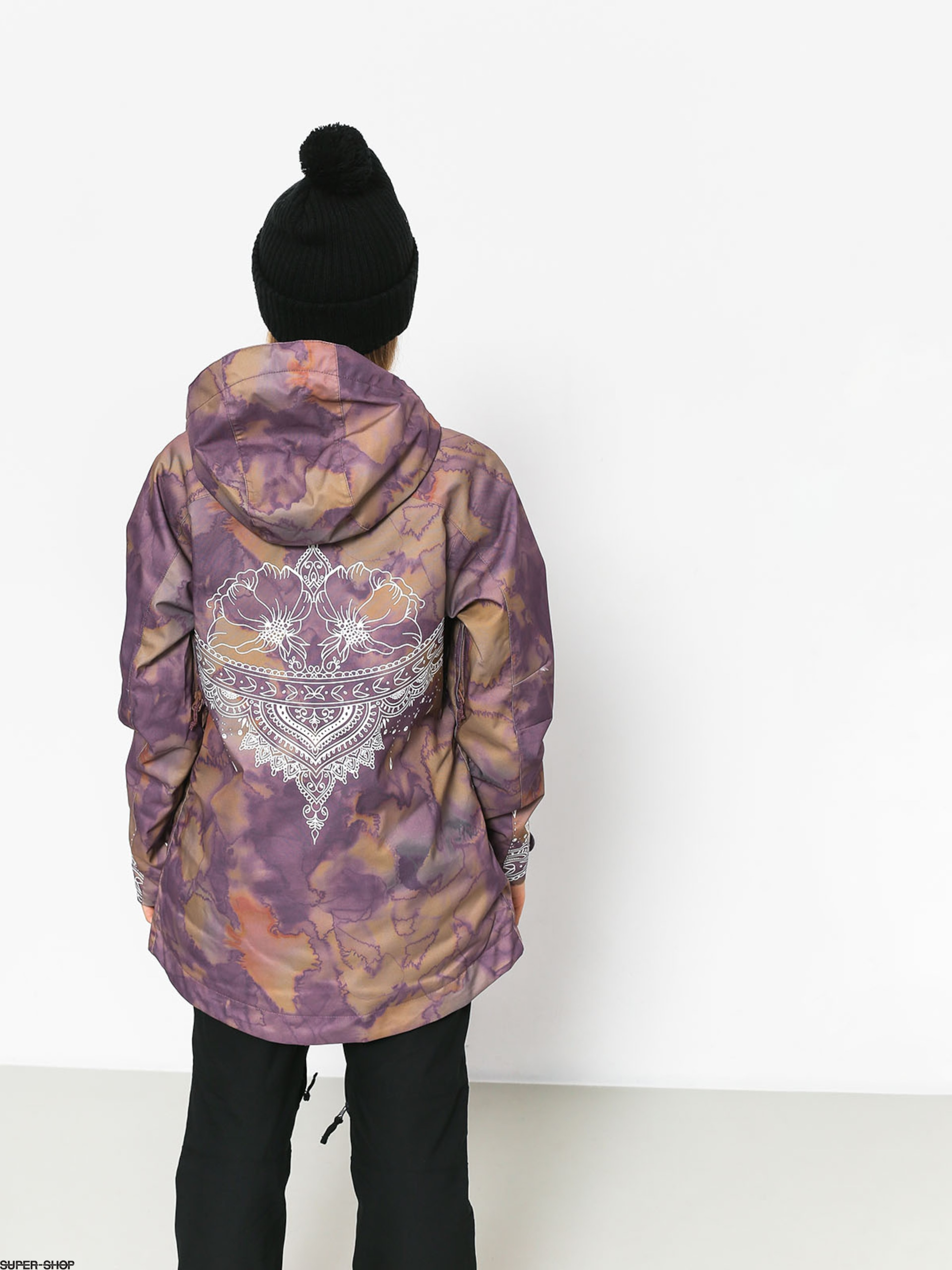 Burton Snowboard Jacket Eastfall Wmn Quartz Camo