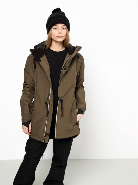 Airblaster Stay Wild Parka Snowboard jacket Wmn (olive night)