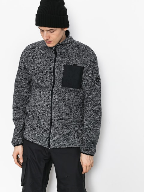 Quiksilver Butter Fleece (black heather)