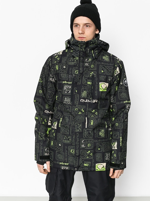 Quiksilver Mission Pr Snowboard jacket (kawena grape leaf)