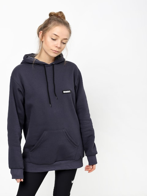 Diamante Wear Basic Graphite HD Hoody