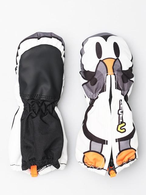 Level Toddler Mitt Gloves (black white)