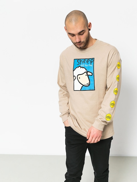 Etnies Sheep Number Longsleeve (bone)