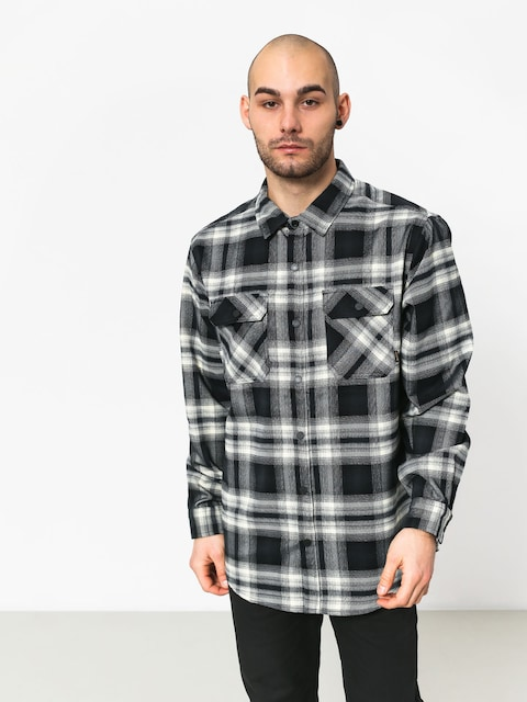 Burton Brighton Tech Fl Shirt (true black lahombre)
