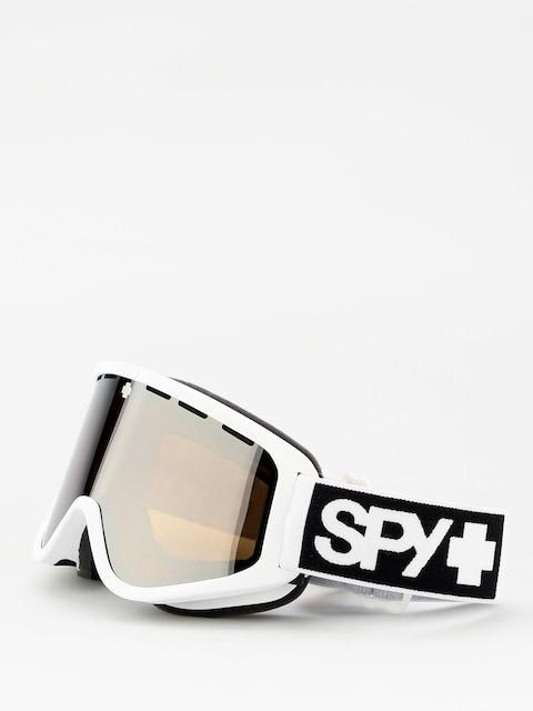 Spy Woot Goggles (matte white bronze w/silver spectra persimmon)