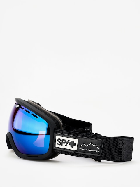 Spy Marshall Goggles (essential black happy rose w/dark blue spectra happy light gray green w/lucid red)