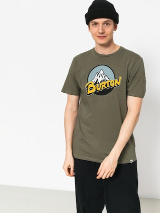 Burton Retro Mtn T-shirt (dusty olive)