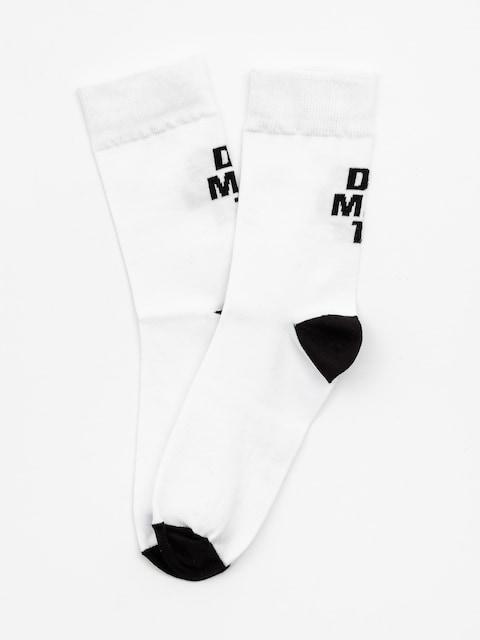 Diamante Wear Classy Socks (white/black)