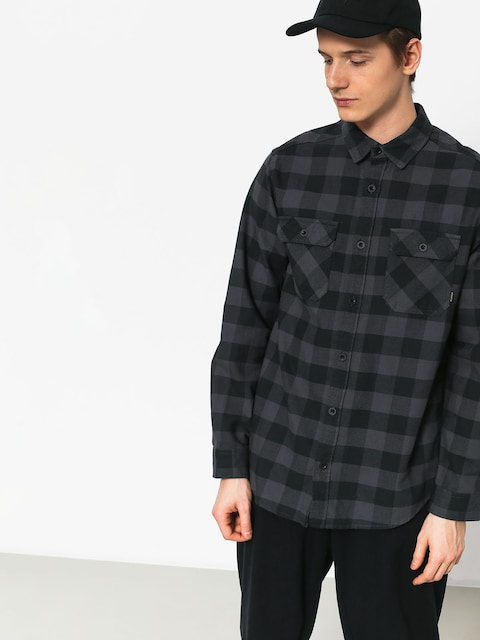 Burton Brighton Flnl Shirt (true black htr buff)