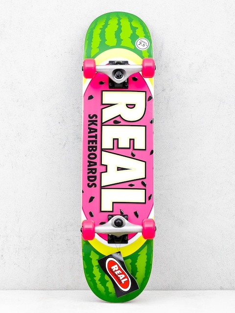 Real Watermelon Skateboard (green/red)